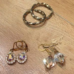 Jewelry - Glam earring bundle